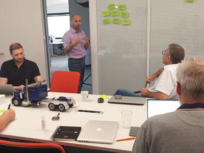 Worshops, innovation tour, i-lab et projet Fit4Cozmo : Genèse de l'innovation