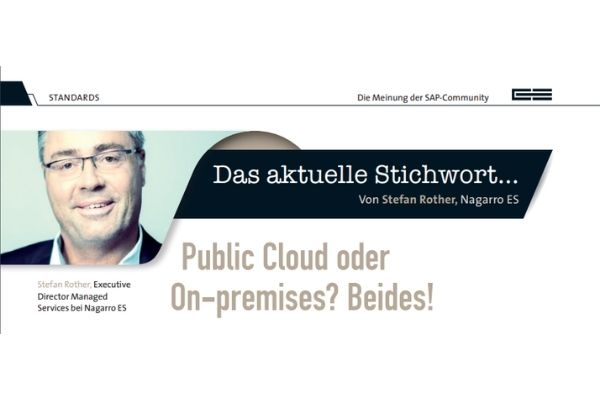 E3 Artikel – Public Cloud oder On-premises?
