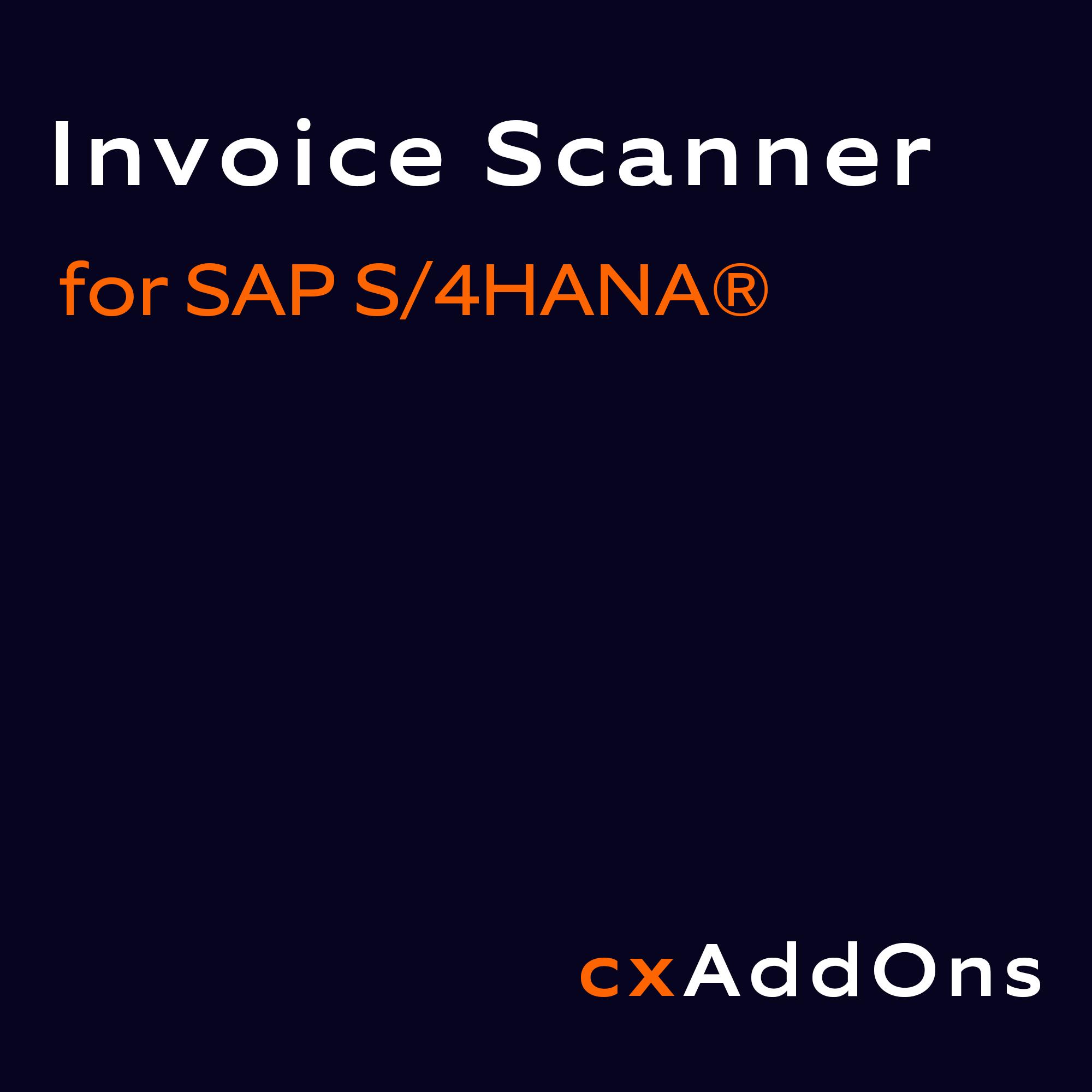 Nagarro ES Invoice Scanner for SAP S/4HANA