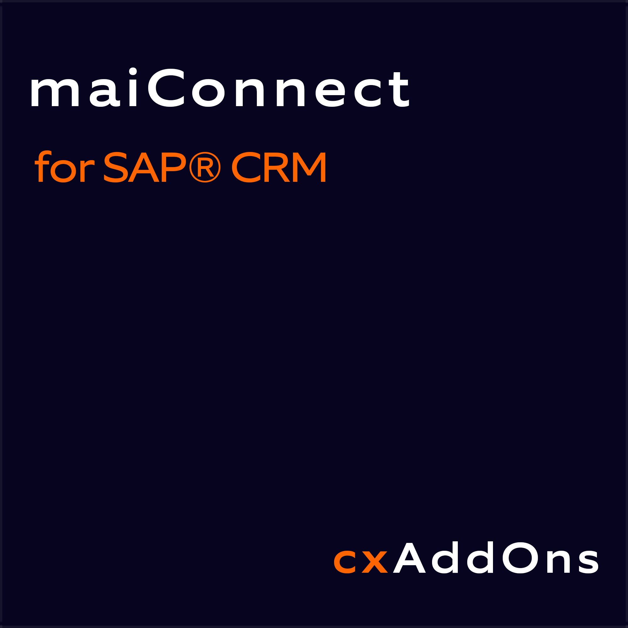 Nagarro ES maiConnect for SAP CRM