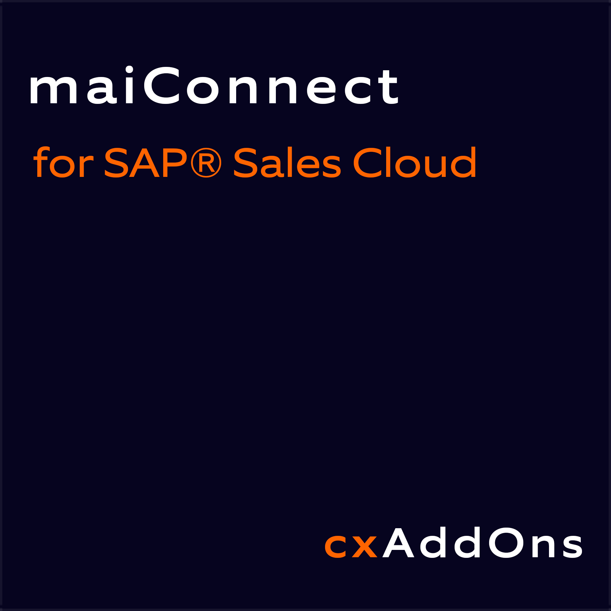 Nagarro ES maiConnect for SAP Sales Cloud Logo