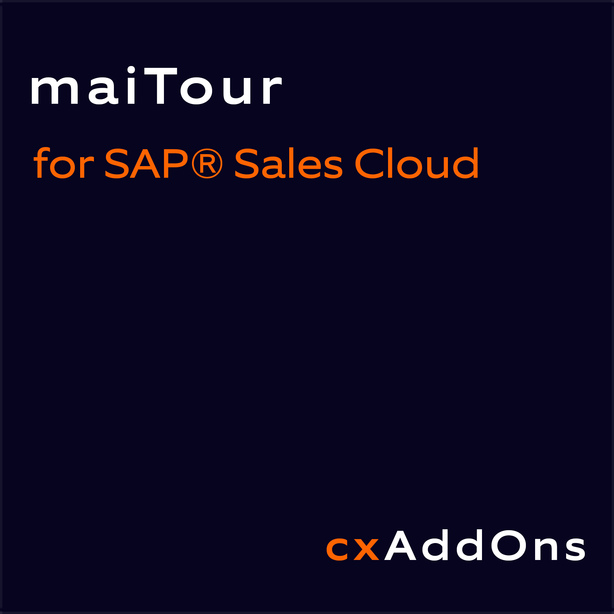 Nagarro ES maiTour for SAP Sales Cloud