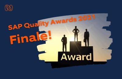 SAP Quality Awards 2021: Unser Kunde Dussmann schafft es unter die Finalisten