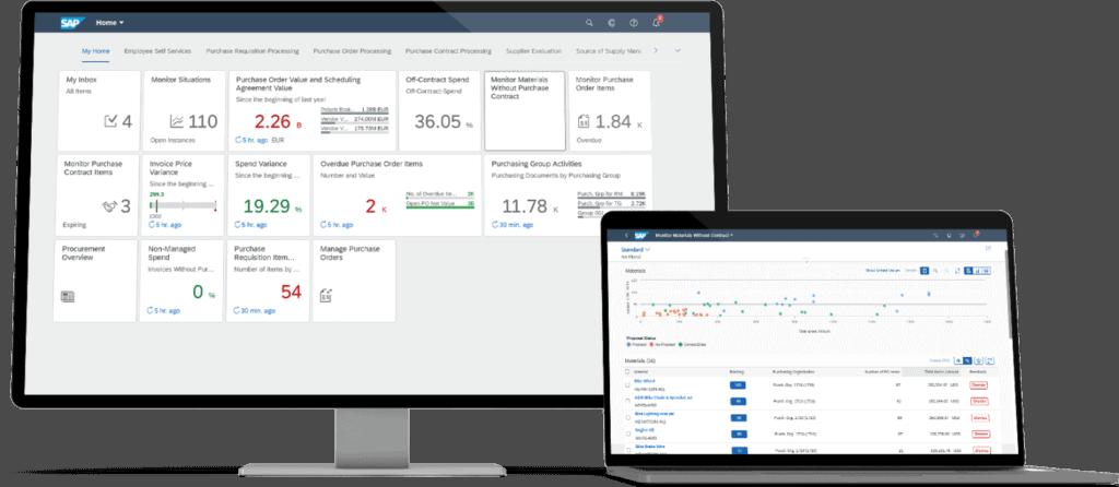 SAP Fiori auf Desktop und Tablet