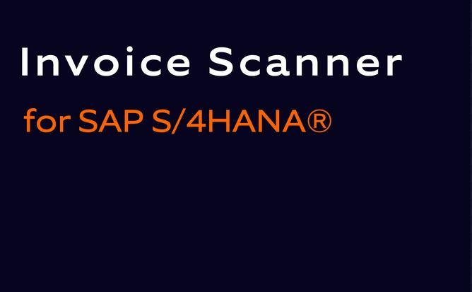 L'Invoice Scanner pour SAP S/4HANA® désormais disponible dans SAP® Store