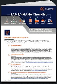 S/4HANA Checkliste